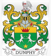 Dunphy Coat of Arms Poster