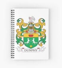 Dunphy Coat of Arms Spiral Notebook