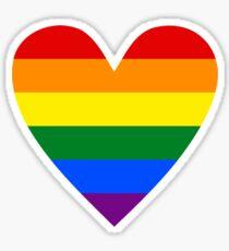 LGBT heart Sticker