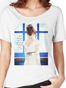 Jane Austen Love Quote Women's Relaxed Fit T-Shirt