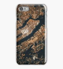 Original Art New York Earth View. iPhone Case/Skin