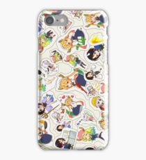 dragon maid stickers iPhone Case/Skin
