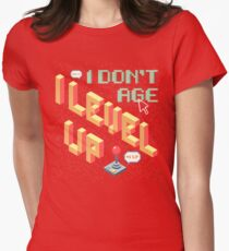 I Level Up! Womens Fitted T-Shirt
