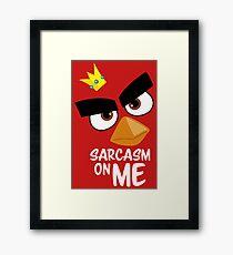 Sarcasm King Framed Print