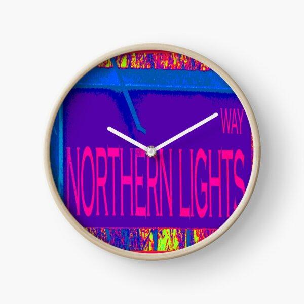 Northern Lights Way Clock