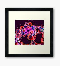 Hibiscus in Red Framed Print