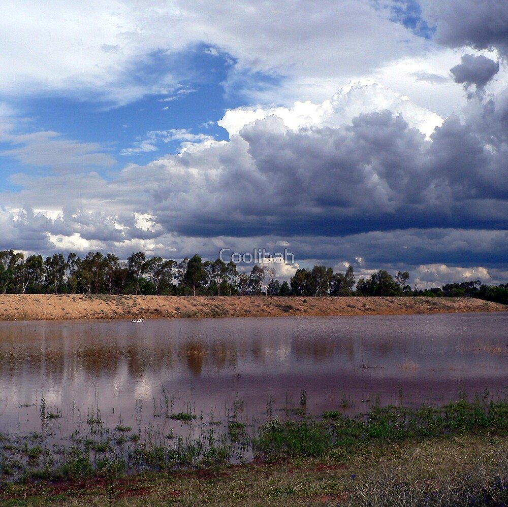 Glorious Storm Clouds  by Coolibah