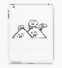 Clouds Vs. Mountains iPad Case/Skin