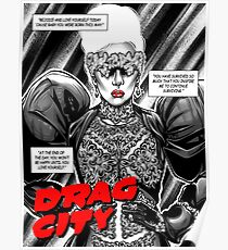 Drag City -  Lady Gaga Poster