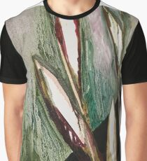 Leafs abstract oil art Graphic T-Shirt