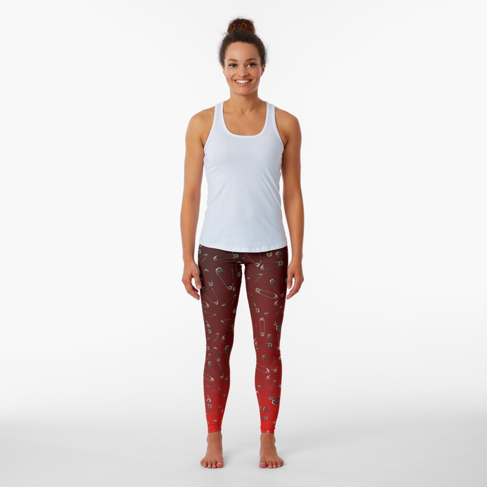 Safe with me ombre safety pin Leggings