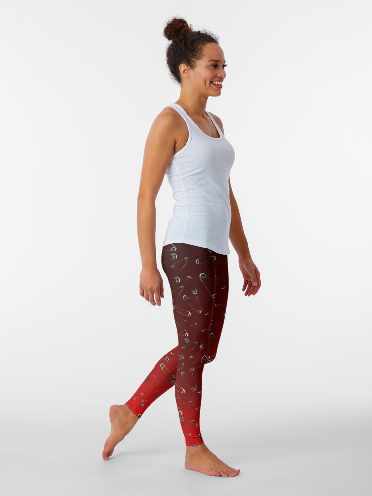 Alternate view of Safe with me ombre safety pin Leggings