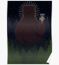 Protector Bear Poster
