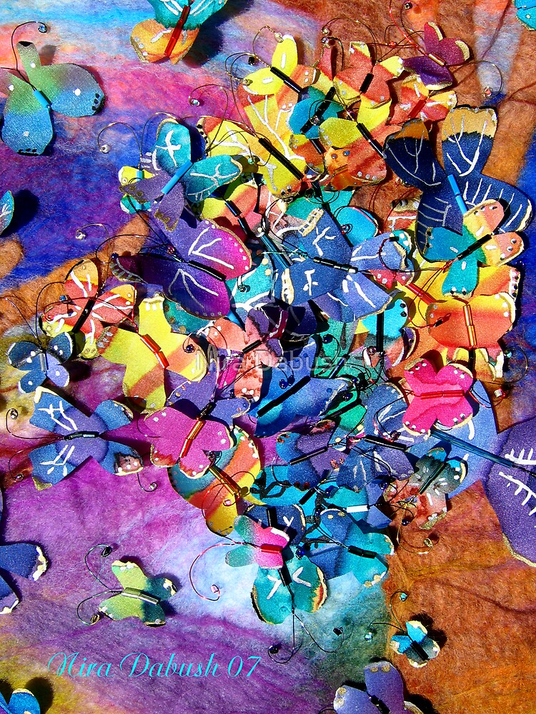 Happy Festival of the Rainbow's Butterflies by Nira Dabush