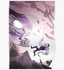 Moon The Undaunted - Star Vs The Forces Of Evil Poster