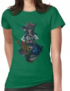 Nightrose Womens Fitted T-Shirt