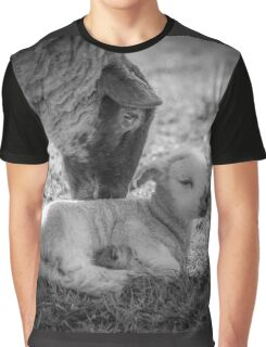 Mothers Kiss - Lamb Graphic T-Shirt