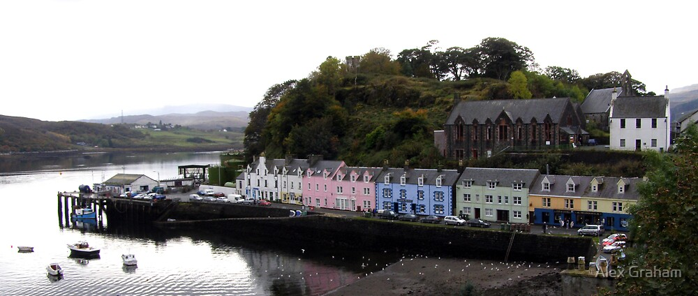 Portree, Isle of Skye by Alex Graham