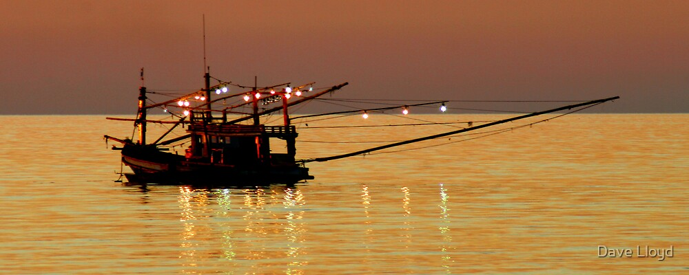 Fishing Lights by Dave Lloyd