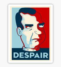 Pegatina Futurama - desesperación