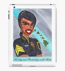 Serving and Protecting with Aloha iPad Case/Skin