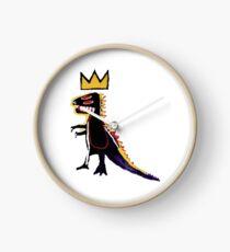 Basquiat Dinosaur Clock