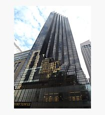 Classic Architecture, Trump Tower, 5th Avenue, New York City Photographic Print