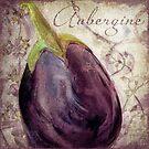 Legumes Francais Eggplant (Aubergine) by mindydidit