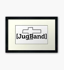 [JugBand] - schwarz Framed Print