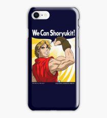 We Can Shoryukit! iPhone Case/Skin