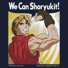 We Can Shoryukit! by Crocktees