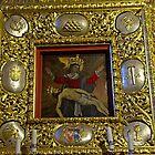 Miraculous image of Our Lady of Sorrows Chelmno Poland by Elzbieta Fazel