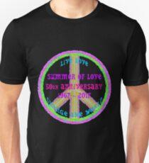 Summer of Love Anniversary by IdeaJones Unisex T-Shirt