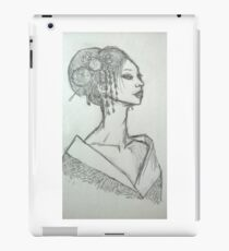 Geisha sketch iPad Case/Skin