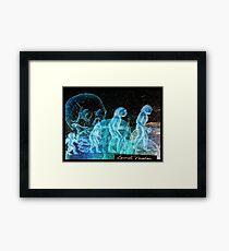 Evolution Hoax Framed Print