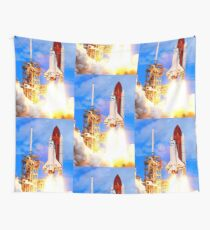 The Space Shuttle Discovery STS-120 Wall Tapestry