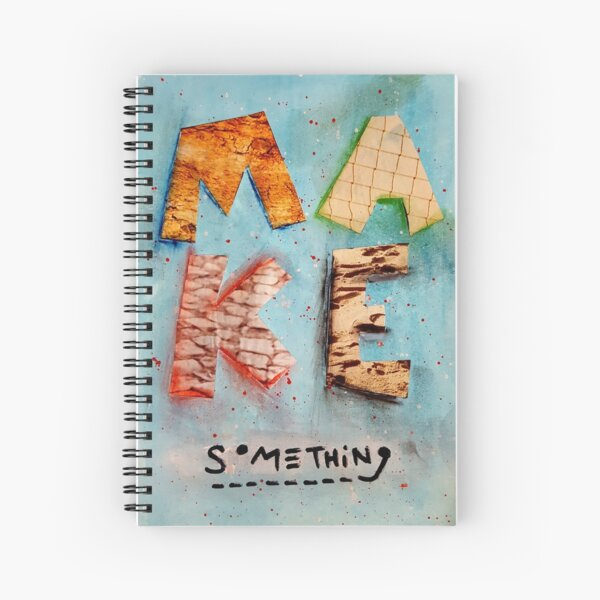 Project 321 - Make Something Spiral Notebook