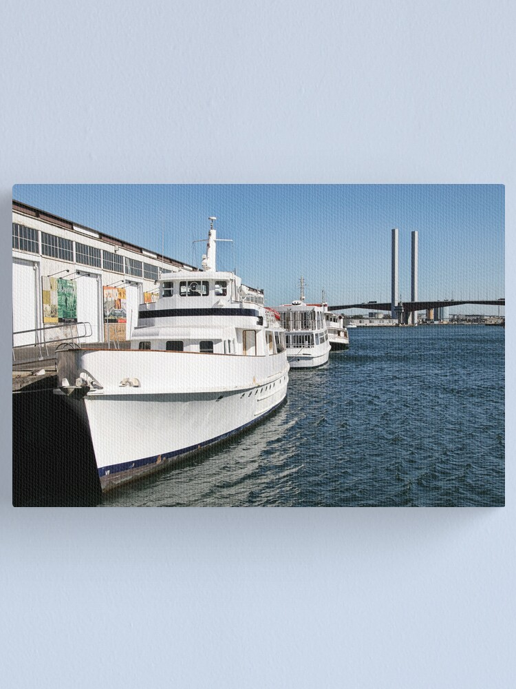 Alternate view of Melbourne Series - Bolte Boats Canvas Print