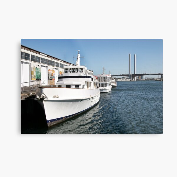 Melbourne Series - Bolte Boats Metal Print