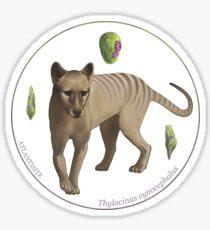 Thylacinus cynocephalus with atlantisite Sticker