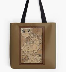 MAP THE NORTH Tote Bag