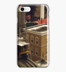 Lionel Model Trains, Model Village, FAO Schwarz Toystore, New York City iPhone Case/Skin