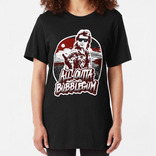 All Outta Bubblegum.  Slim Fit T-Shirt