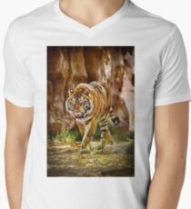Tiger V-Neck T-Shirt