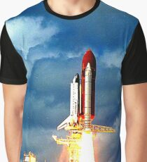 SPACE SHUTTLE DISCOVERY 2 Graphic T-Shirt