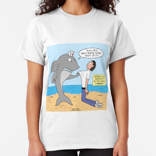 Male Nurse Shark Classic T-Shirt