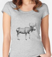 Bull Moose Women's Fitted Scoop T-Shirt
