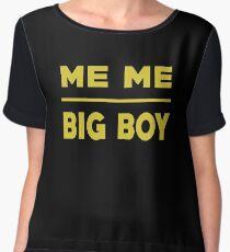 Me Me Big Boy T Shirt Chiffon Top