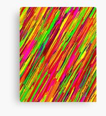 Contrast Abstraction , Color World,  Canvas Print