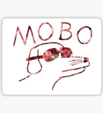 Floral Modern Baseball Dog Sticker
